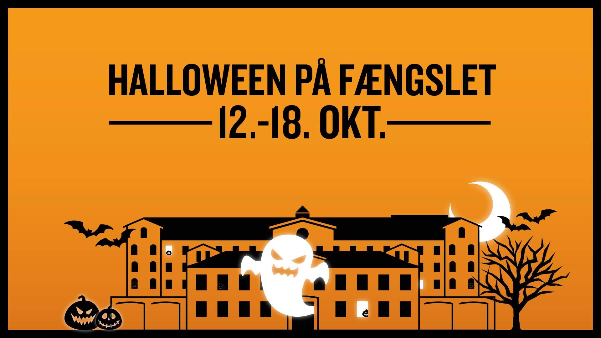 Halloween på FÆNGSLET 2020