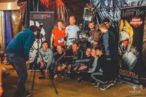 Billede af de overlevende til Horror Run - et målfoto