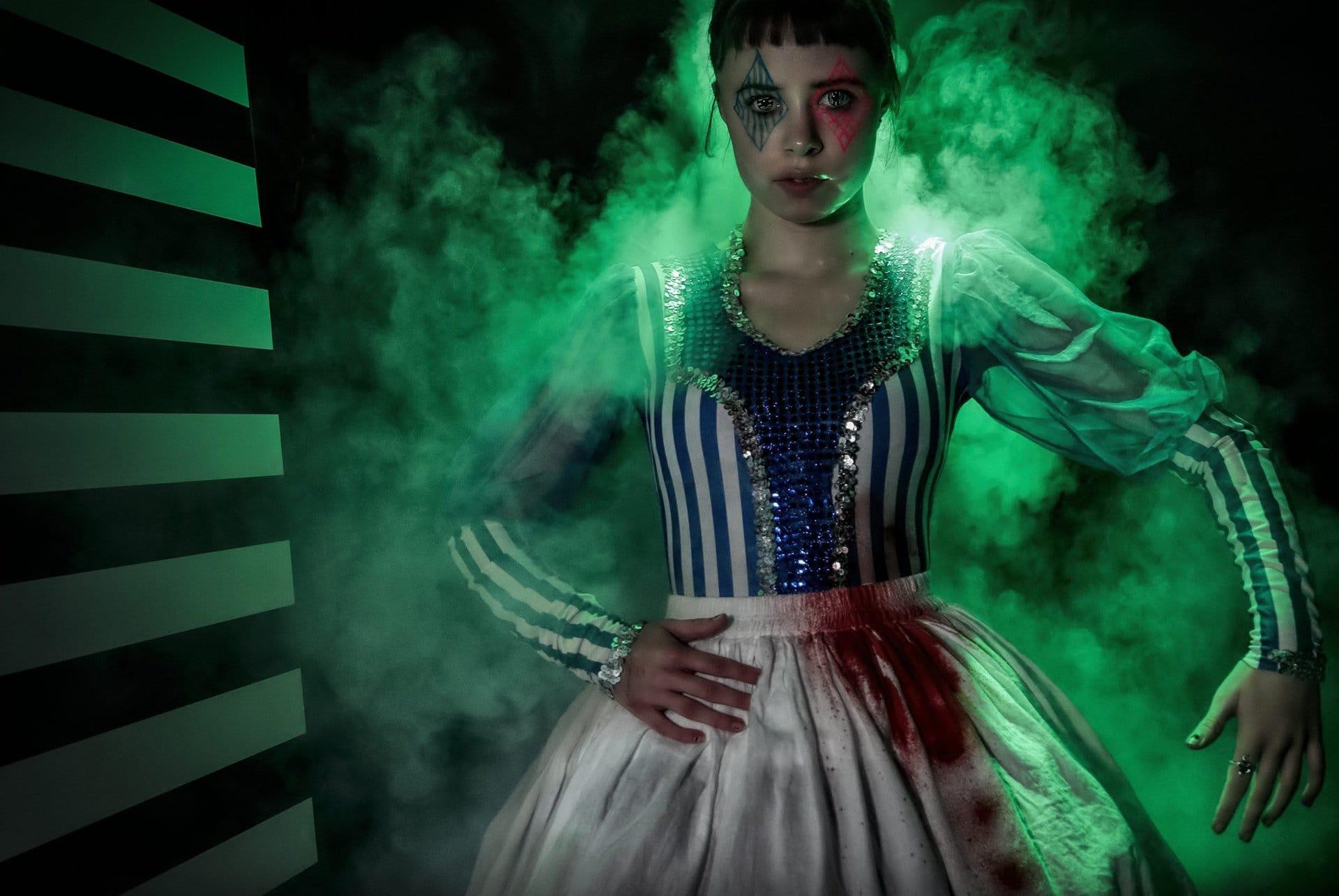 Ballerina Halloween Tivoli Friheden Delusionsfabrikken