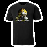 Corona gasmaske T-shirt