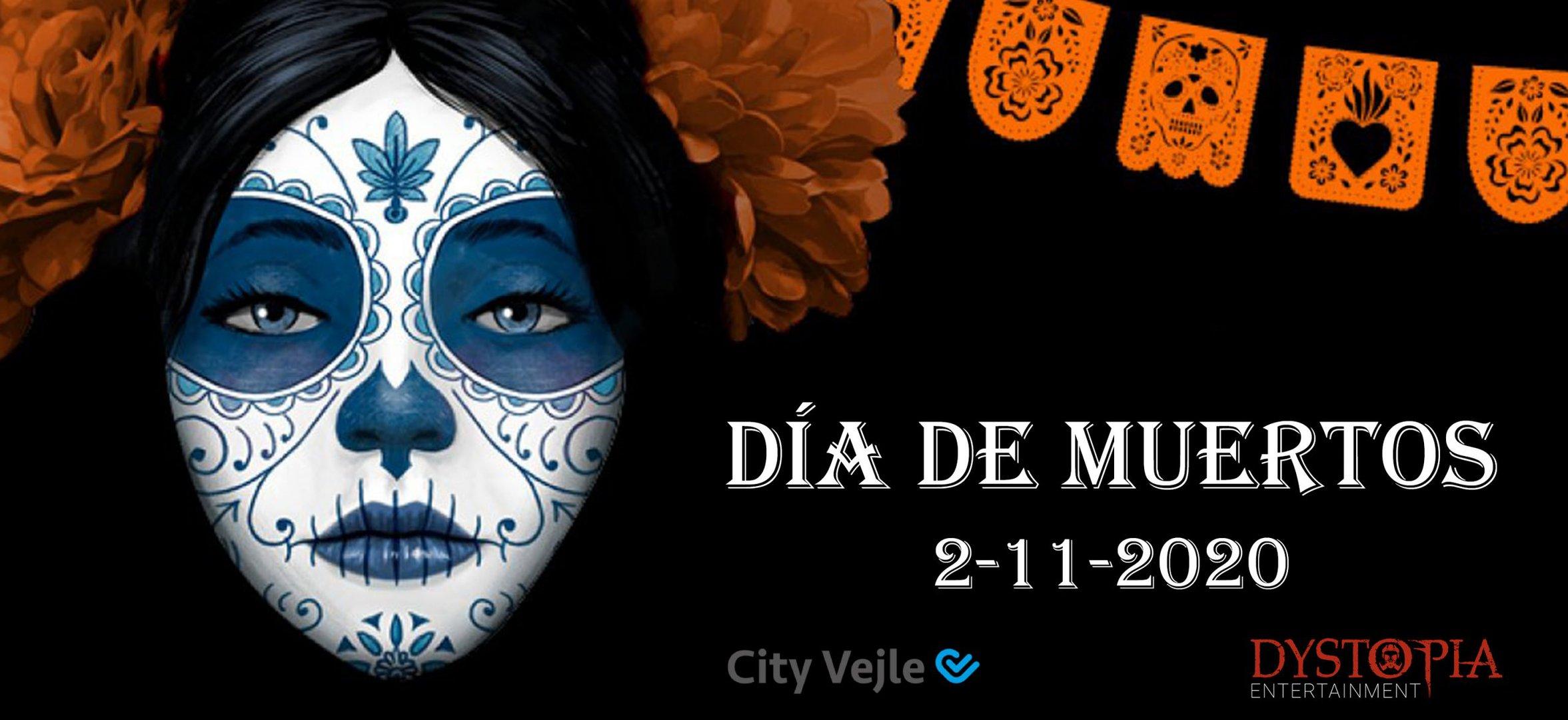 Dia de Muertos - De Dødes Dag - City Vejle
