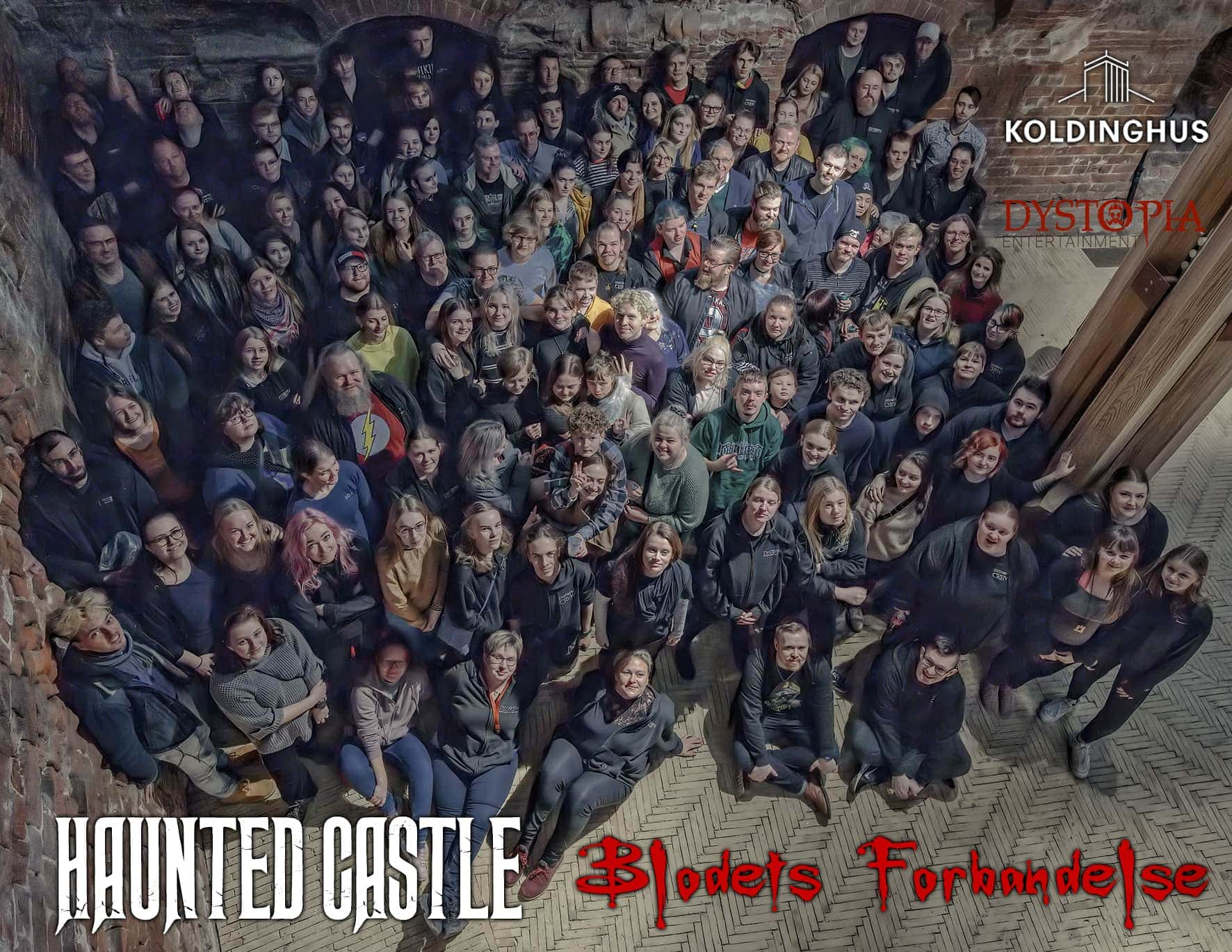 Haunted Castle 2020 The Curse of the Blood volunteers