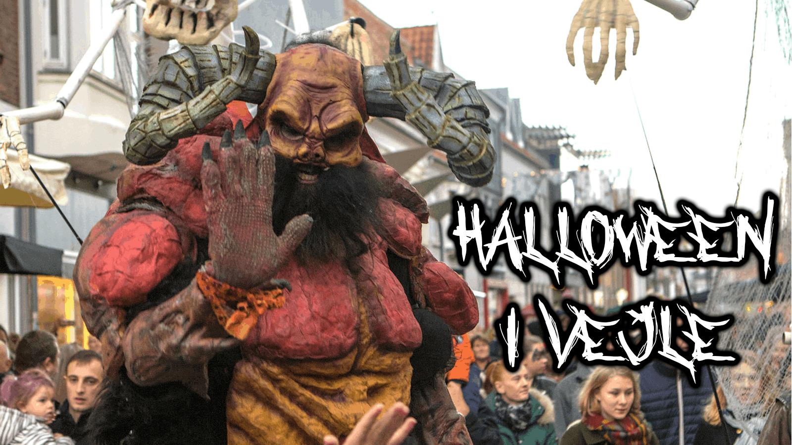 Halloween i Vejle City Vejle parade