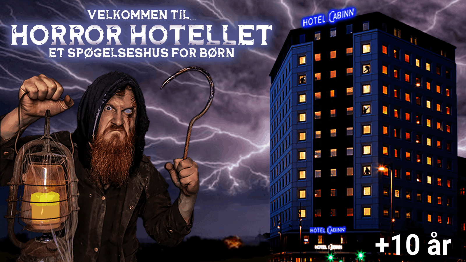 Horror Hotellet - Cabinn City Vejle