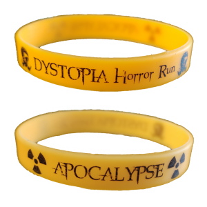 Horror Run Apocalypse selvlysende armbånd - shop - webshop