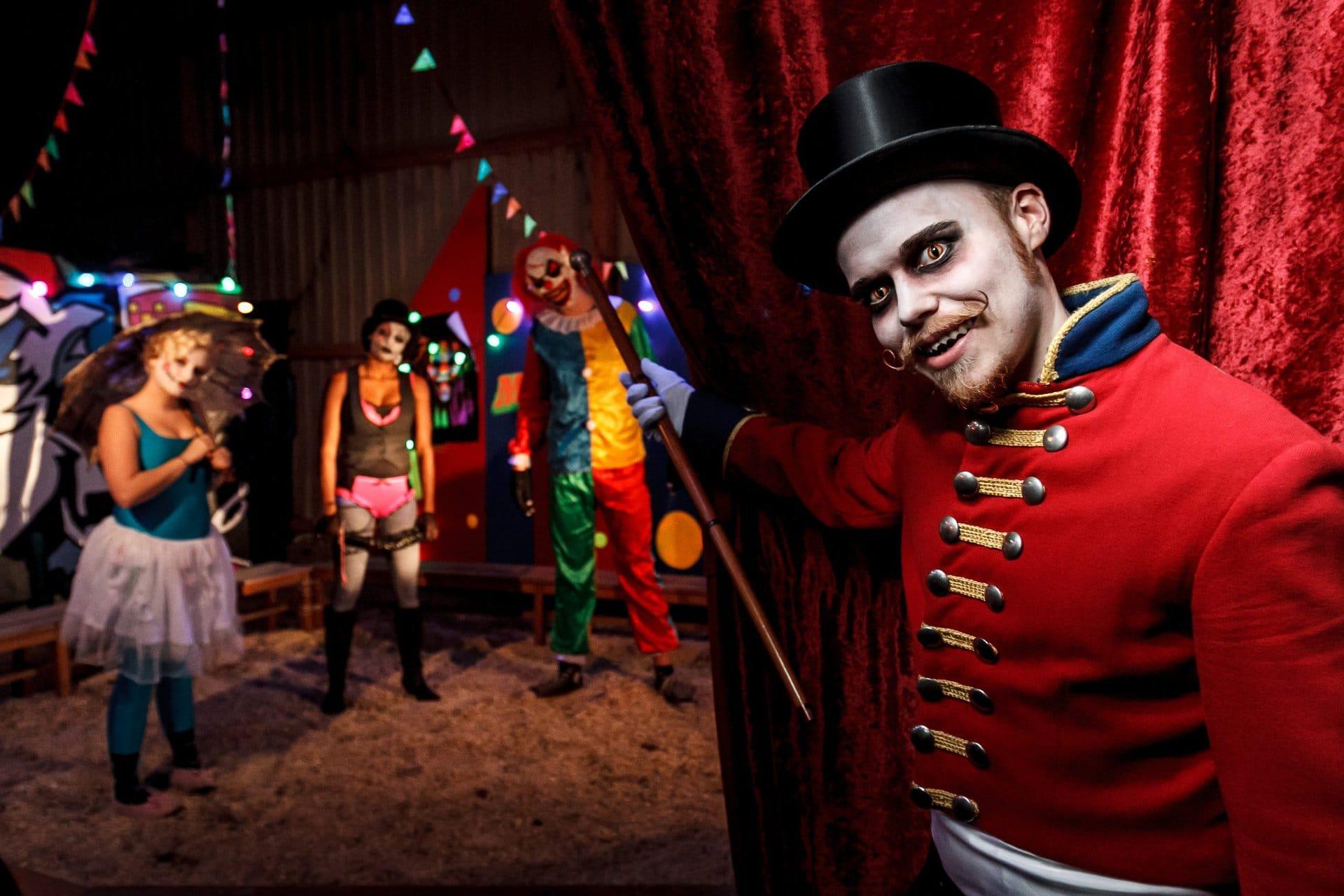 Cirkus DYSTOPIA Tivoli Friheden Halloween