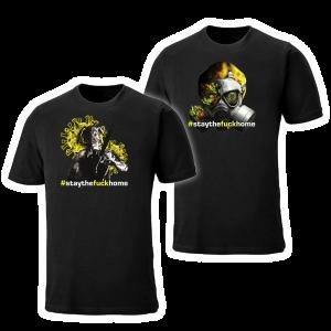 Corona versus Monsters #staythefuckhome kampagne