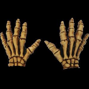 Skelethænder - gule