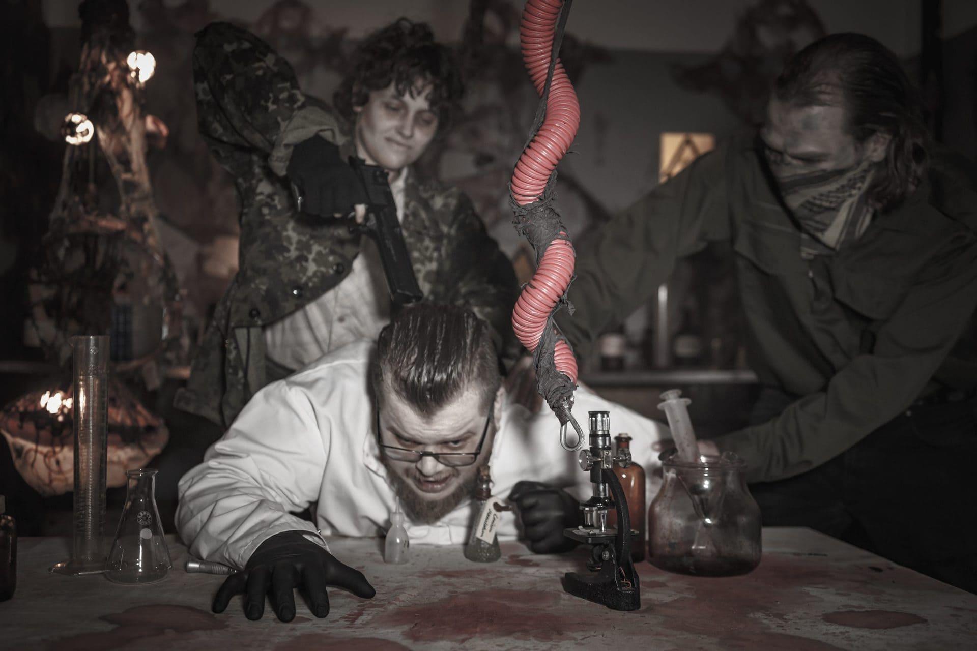 Dystopia Haunted House - Dark Matter