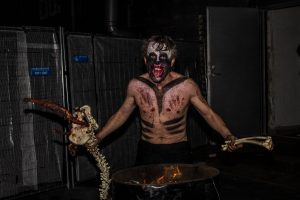 DYSTOPIA Haunted House 2015 - Into The Blood