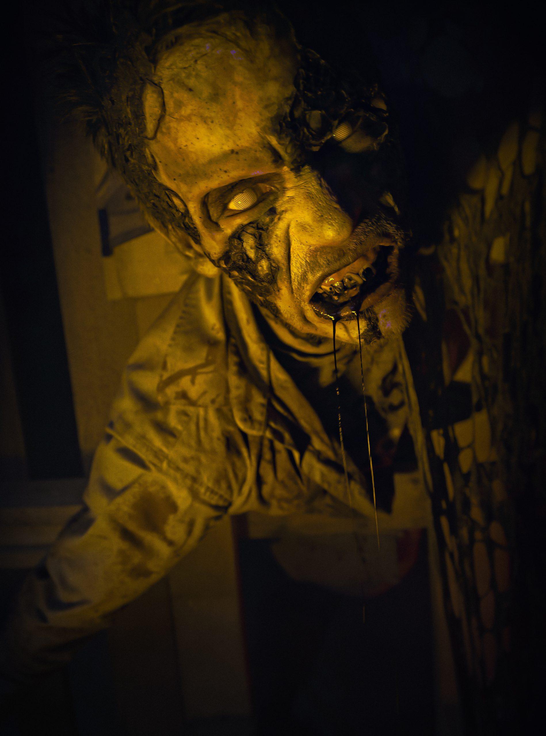 Dark Zombie - DYSTOPIA Haunted House - Dark Matter